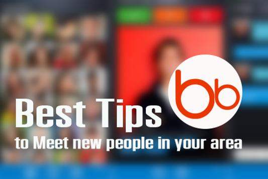 Free Badoo Find New Friend Tip poster