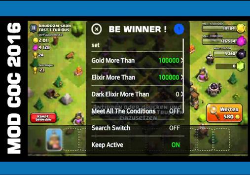 X Mod Clash of Clans apk screenshot