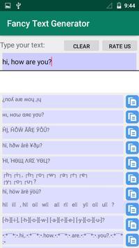 Fancy Text Generator apk screenshot