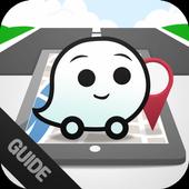 Free Waze GPS Map Tips icon