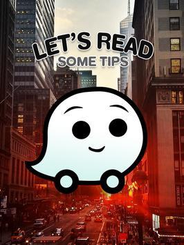 Free Waze GPS Map Tips poster
