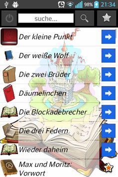 Kinder Geschichten zum Zuhören apk screenshot