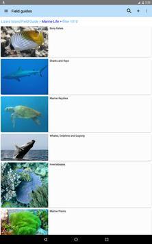 Lizard Island Field Guide apk screenshot