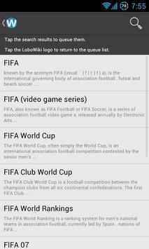 LoboWiki Reader for Wikipedia apk screenshot