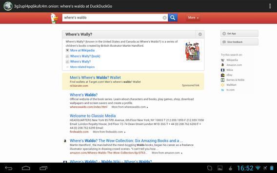 Orweb: Private Web Browser apk screenshot