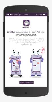 MBG Chat poster