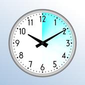 Timetracker / Time clock icon