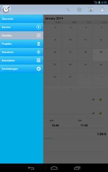 Timetracker / Time clock apk screenshot
