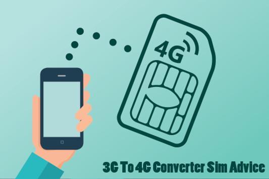 3G To 4G Converter Sim Advice apk screenshot