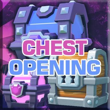 Open Clash Royale Chest poster