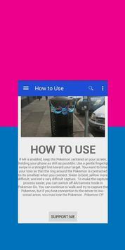Guide PokeMonGo poster