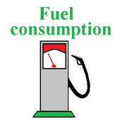 Fuel manager, calculator cost icon