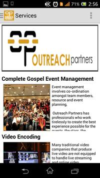 OUTREACH PARTNERS apk screenshot