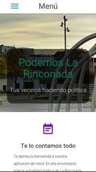 Podemos La Rinconada poster