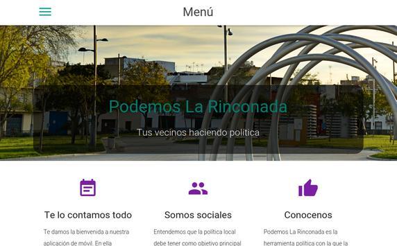 Podemos La Rinconada apk screenshot