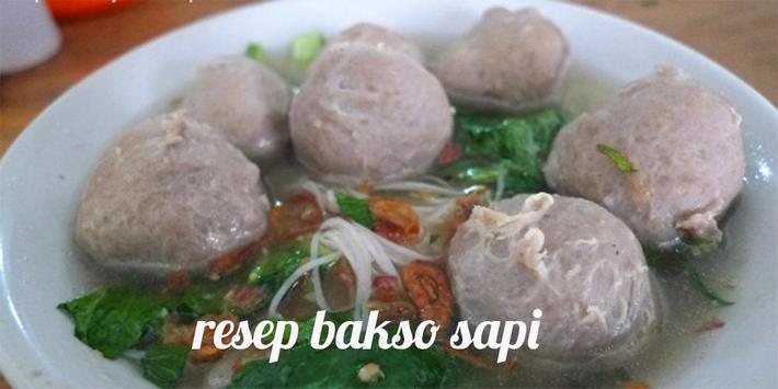 Resep bakso Sapi apk screenshot