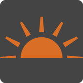 Simple Sunrise icon