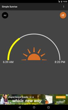 Simple Sunrise apk screenshot