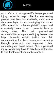 Injury Lawyers apk screenshot