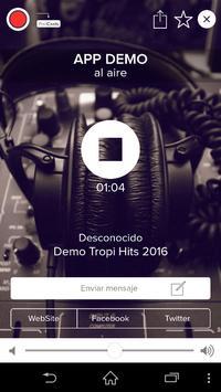 DEMO RADIO APP 3.0 INOVANEX poster