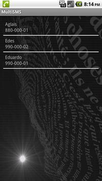 Multi SMS apk screenshot
