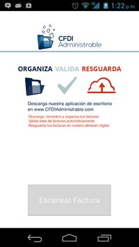 CFDI Administrable poster