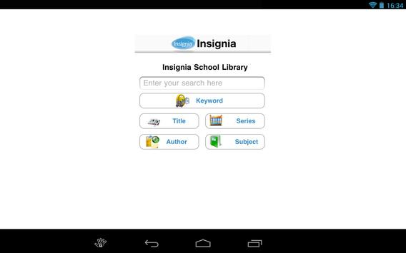 Insignia ILS Tablet poster