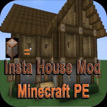 Insta House Mod Minecraft PE apk screenshot