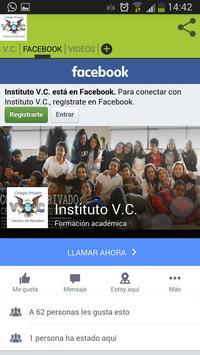 INSTITUTO DE ENSEÑANZA V.C apk screenshot