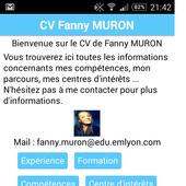 Fanny Muron CV CODAPPS icon