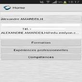 Alexandre Amardeilh CV Codapps icon