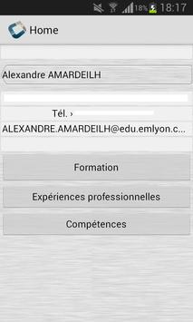 Alexandre Amardeilh CV Codapps poster