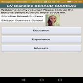 Blandine BERAUD SUDREAU CV icon