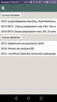 Blandine BERAUD SUDREAU CV apk screenshot