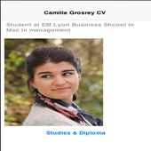 Camille Grosrey CV icon
