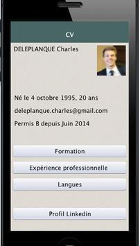 CV DELEPLANQUE Charles poster