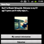Mounir Belaguide CV icon