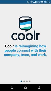 Coolr - Team Building poster