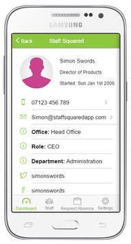 Staff Squared HR Software App apk screenshot