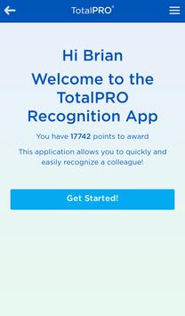 TotalPRO Recognition poster