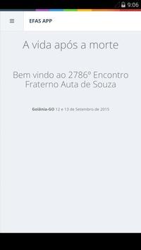 Encontro Fraterno Goiânia 2015 poster