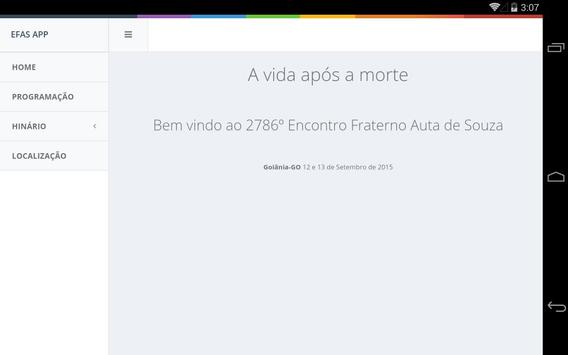 Encontro Fraterno Goiânia 2015 apk screenshot