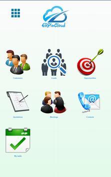 ERP-in-Cloud CRM App apk screenshot