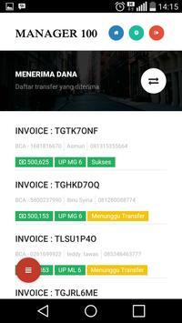 MANAGER 100 MOBILE apk screenshot