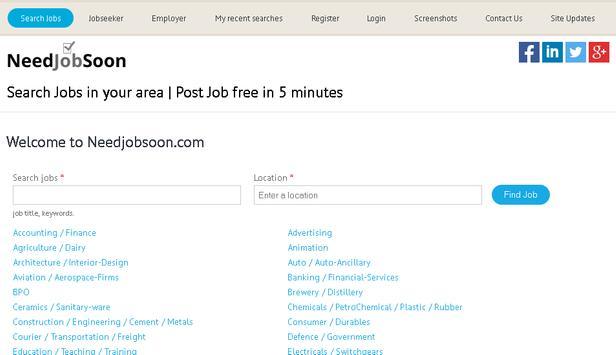 Needjobsoon.com apk screenshot