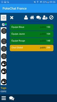 Chat Français pour Pokemon Go apk screenshot