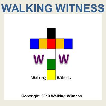 Walking Witness Well poster