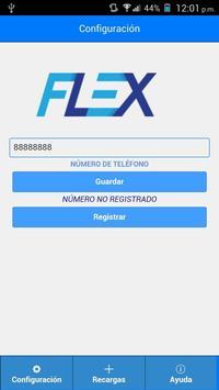 Ahora es Flex poster