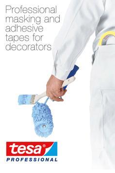 tesa Decorator's Masking Tapes poster