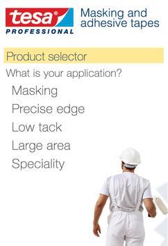 tesa Decorator's Masking Tapes apk screenshot
